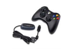 Microsoft Xbox 360 Controller Black with receiver