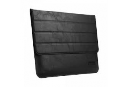 OATSBASF Genuine Leather Laptop Bag for Macbook Pro Air 13.3 - Black