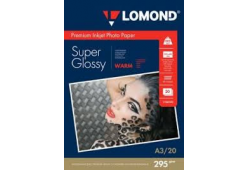 Lomond Premium Photo Paper Super Glossy 295 g/m2 A3, 20